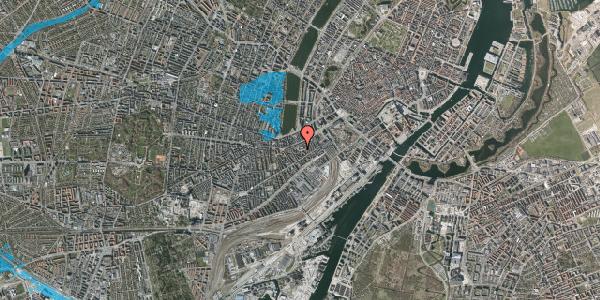 Oversvømmelsesrisiko fra vandløb på Vesterbrogade 29C, 4. tv, 1620 København V