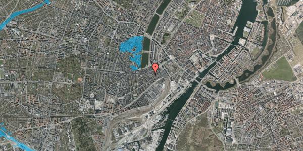 Oversvømmelsesrisiko fra vandløb på Vesterbrogade 29E, 4. tv, 1620 København V