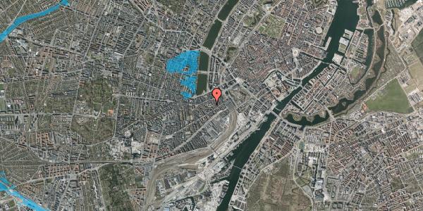 Oversvømmelsesrisiko fra vandløb på Vesterbrogade 29F, kl. , 1620 København V