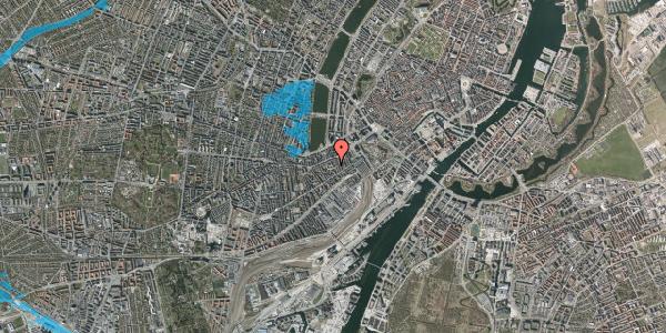 Oversvømmelsesrisiko fra vandløb på Vesterbrogade 29H, 3. tv, 1620 København V