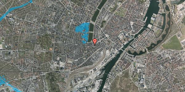 Oversvømmelsesrisiko fra vandløb på Vesterbrogade 33A, 1. , 1620 København V