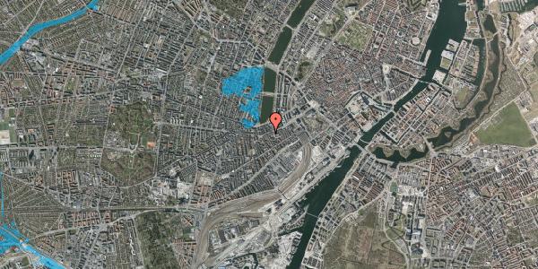 Oversvømmelsesrisiko fra vandløb på Vesterbrogade 37, 3. th, 1620 København V
