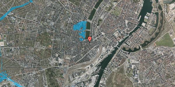 Oversvømmelsesrisiko fra vandløb på Vesterbrogade 39, 5. th, 1620 København V