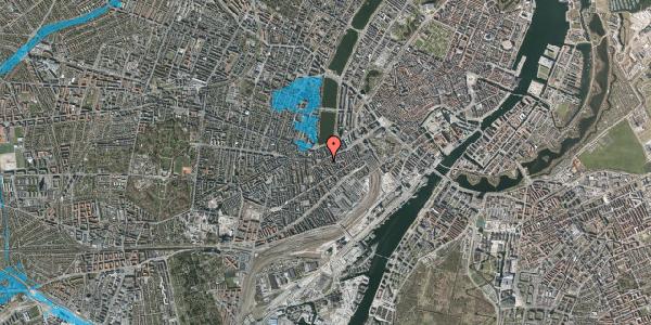 Oversvømmelsesrisiko fra vandløb på Vesterbrogade 41A, 1. , 1620 København V