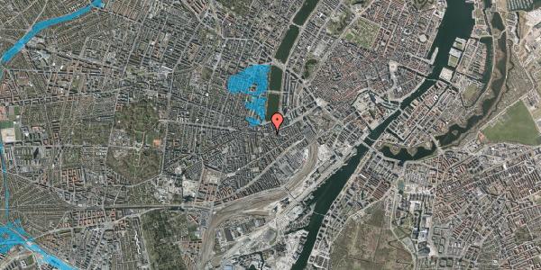 Oversvømmelsesrisiko fra vandløb på Vesterbrogade 41B, 4. , 1620 København V