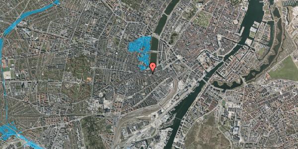 Oversvømmelsesrisiko fra vandløb på Vesterbrogade 46, 4. tv, 1620 København V