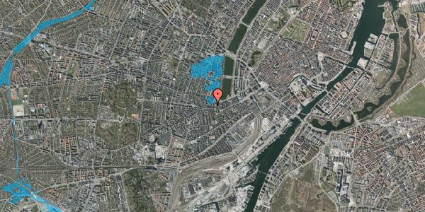 Oversvømmelsesrisiko fra vandløb på Vesterbrogade 62B, 4. tv, 1620 København V