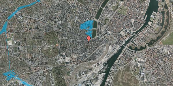 Oversvømmelsesrisiko fra vandløb på Vesterbrogade 69A, 5. tv, 1620 København V