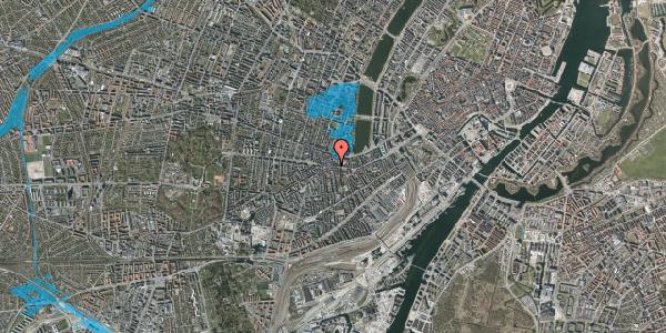Oversvømmelsesrisiko fra vandløb på Vesterbrogade 74, 3. , 1620 København V