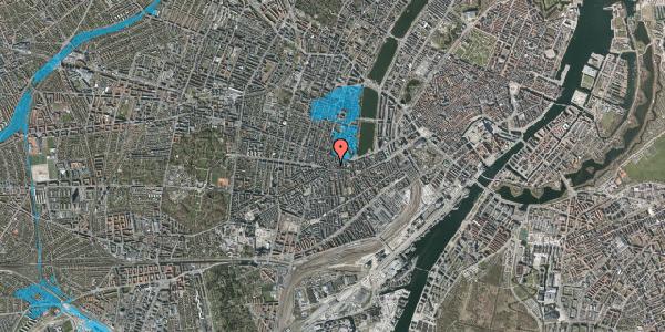 Oversvømmelsesrisiko fra vandløb på Vesterbrogade 80B, 1. , 1620 København V