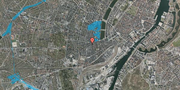 Oversvømmelsesrisiko fra vandløb på Vesterbrogade 94, 2. 220, 1620 København V