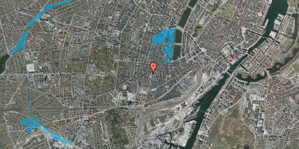 Oversvømmelsesrisiko fra vandløb på Vesterbrogade 107E, 2. , 1620 København V