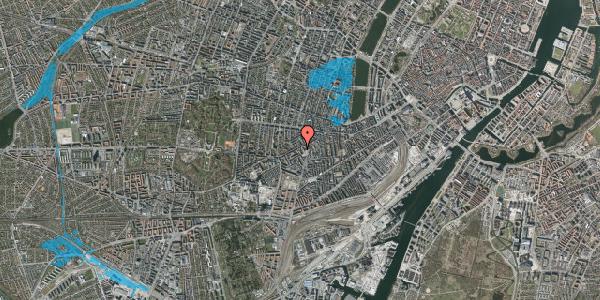 Oversvømmelsesrisiko fra vandløb på Vesterbrogade 111A, 3. tv, 1620 København V