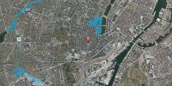 Oversvømmelsesrisiko fra vandløb på Vesterbrogade 113, 2. th, 1620 København V