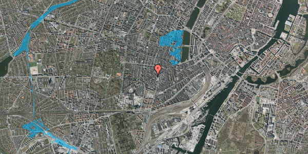 Oversvømmelsesrisiko fra vandløb på Vesterbrogade 113, 3. th, 1620 København V