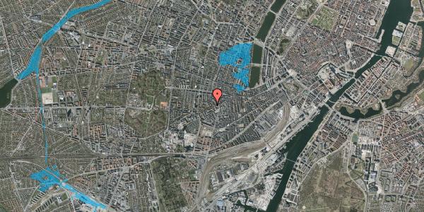 Oversvømmelsesrisiko fra vandløb på Vesterbrogade 118B, 2. th, 1620 København V
