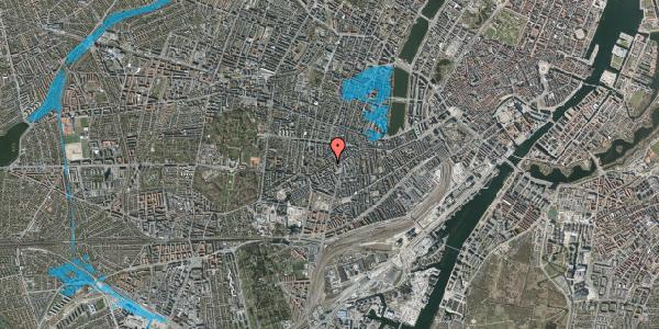 Oversvømmelsesrisiko fra vandløb på Vesterbrogade 120, 1. tv, 1620 København V