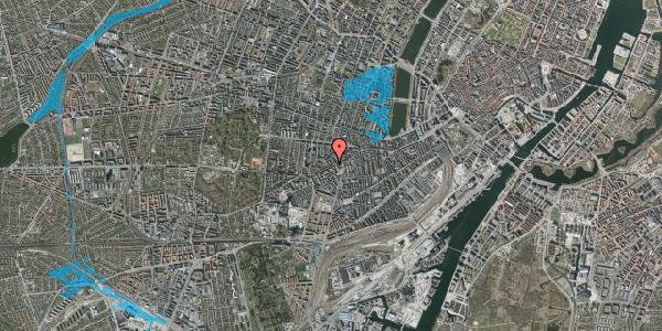 Oversvømmelsesrisiko fra vandløb på Vesterbrogade 120, 3. tv, 1620 København V