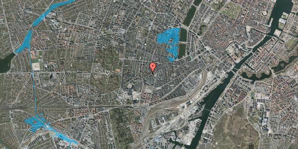 Oversvømmelsesrisiko fra vandløb på Vesterbrogade 121, 7. , 1620 København V