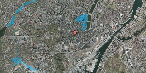 Oversvømmelsesrisiko fra vandløb på Vesterbrogade 124, 3. , 1620 København V