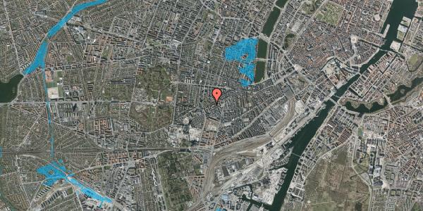 Oversvømmelsesrisiko fra vandløb på Vesterbrogade 125, 1. th, 1620 København V