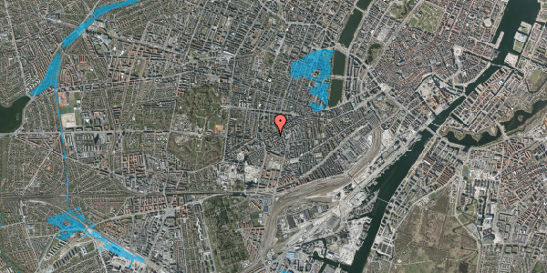 Oversvømmelsesrisiko fra vandløb på Vesterbrogade 125, 1. tv, 1620 København V