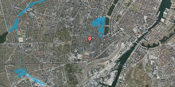 Oversvømmelsesrisiko fra vandløb på Vesterbrogade 126, 1. th, 1620 København V
