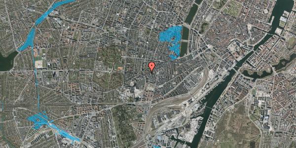 Oversvømmelsesrisiko fra vandløb på Vesterbrogade 129, 2. th, 1620 København V