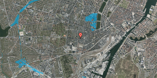 Oversvømmelsesrisiko fra vandløb på Vesterbrogade 133, 3. , 1620 København V
