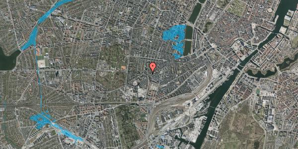Oversvømmelsesrisiko fra vandløb på Vesterbrogade 137, 1. tv, 1620 København V