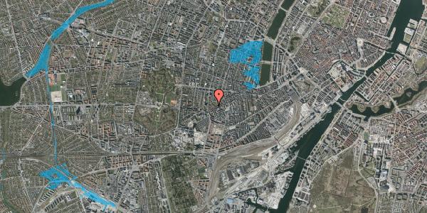 Oversvømmelsesrisiko fra vandløb på Vesterbrogade 140E, 1. 3, 1620 København V
