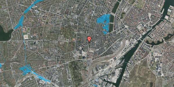Oversvømmelsesrisiko fra vandløb på Vesterbrogade 143, 4. tv, 1620 København V