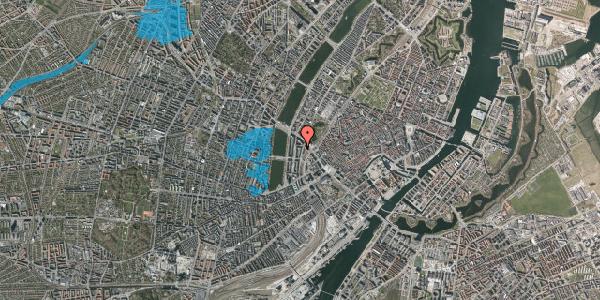 Oversvømmelsesrisiko fra vandløb på Vester Farimagsgade 35A, 5. tv, 1606 København V