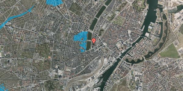 Oversvømmelsesrisiko fra vandløb på Vester Søgade 10, 1601 København V