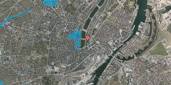 Oversvømmelsesrisiko fra vandløb på Vester Søgade 14, 5. th, 1601 København V