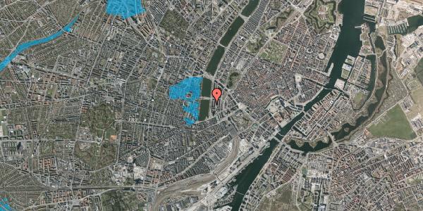 Oversvømmelsesrisiko fra vandløb på Vester Søgade 16, 4. th, 1601 København V