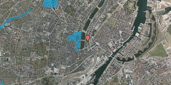 Oversvømmelsesrisiko fra vandløb på Vester Søgade 20, st. tv, 1601 København V