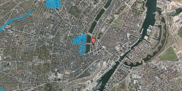 Oversvømmelsesrisiko fra vandløb på Vester Søgade 22, 4. th, 1601 København V