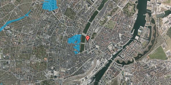 Oversvømmelsesrisiko fra vandløb på Vester Søgade 44, 1. th, 1601 København V