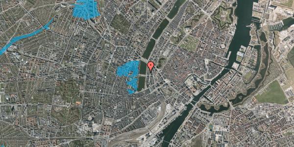 Oversvømmelsesrisiko fra vandløb på Vester Søgade 46, 2. tv, 1601 København V