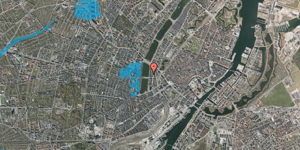 Oversvømmelsesrisiko fra vandløb på Vester Søgade 48, 1. th, 1601 København V