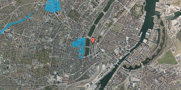 Oversvømmelsesrisiko fra vandløb på Vester Søgade 50, 3. th, 1601 København V