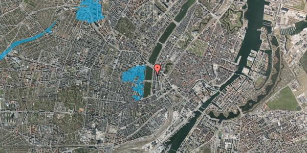 Oversvømmelsesrisiko fra vandløb på Vester Søgade 54, 4. th, 1601 København V