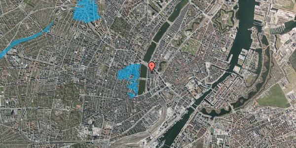 Oversvømmelsesrisiko fra vandløb på Vester Søgade 56, 4. th, 1601 København V