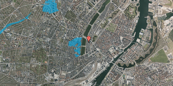Oversvømmelsesrisiko fra vandløb på Vester Søgade 58, 5. th, 1601 København V
