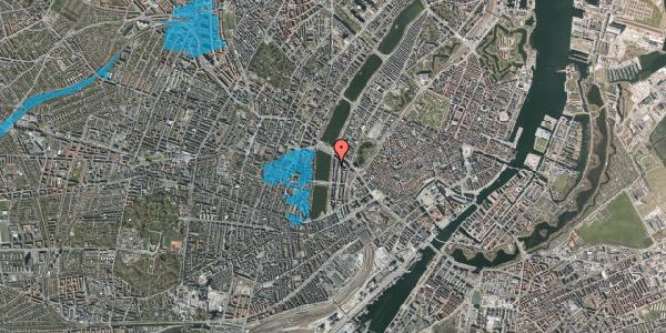 Oversvømmelsesrisiko fra vandløb på Vester Søgade 64, 4. th, 1601 København V