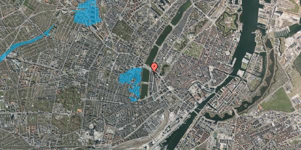 Oversvømmelsesrisiko fra vandløb på Vester Søgade 66, 4. th, 1601 København V