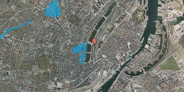 Oversvømmelsesrisiko fra vandløb på Vester Søgade 76, 1. tv, 1601 København V