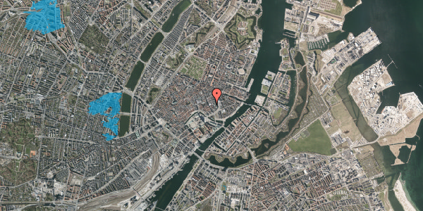 Oversvømmelsesrisiko fra vandløb på Vingårdstræde 9, 1. th, 1070 København K