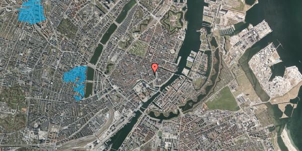 Oversvømmelsesrisiko fra vandløb på Vingårdstræde 9, 1. tv, 1070 København K